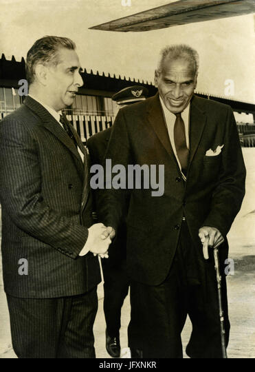 Indian politician Vengalil Krishnan Krishna Menon, 1962 - Stock Image