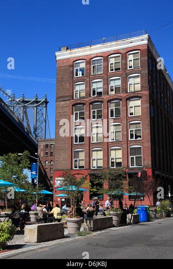 DUMBO, Brooklyn, New York City, United States of America, North America - Stock Image