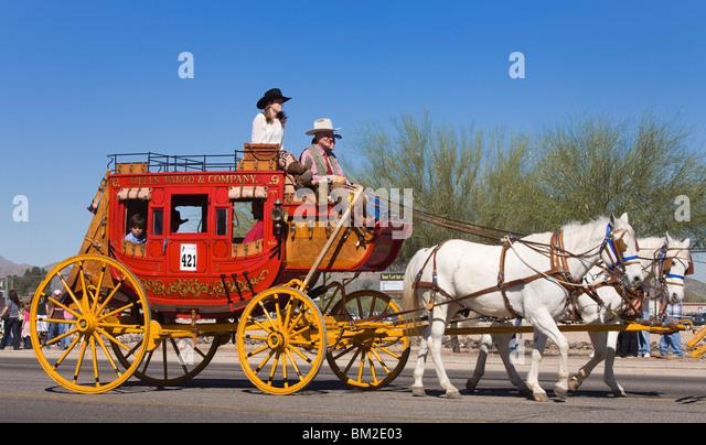 Tucson Rodeo Parade, Tucson, Arizona, USA - Stock Image