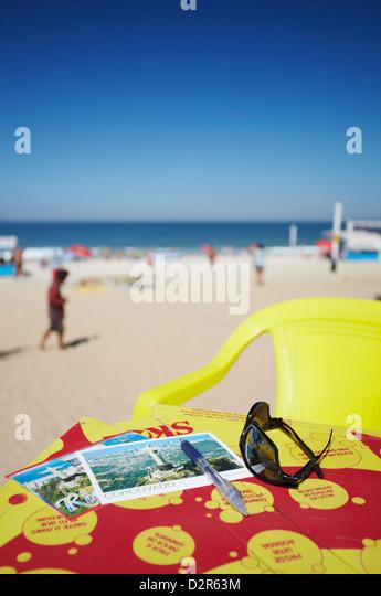 Ipanema beach, Rio de Janeiro, Brazil, South America - Stock Image