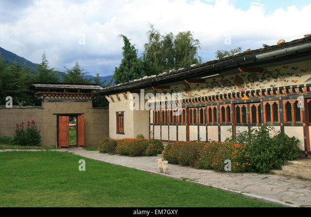 Folk Heritage Museum - Thimphu - Bhutan - 10/06/11 - Stock Image