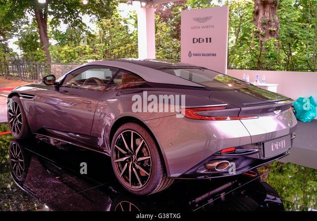 Turin, Italy. 09th June, 2016. Turin car show,from 8th to 12 th June 2016. Aston Martin DB11 Credit:  RENATO VALTERZA/Alamy - Stock Image