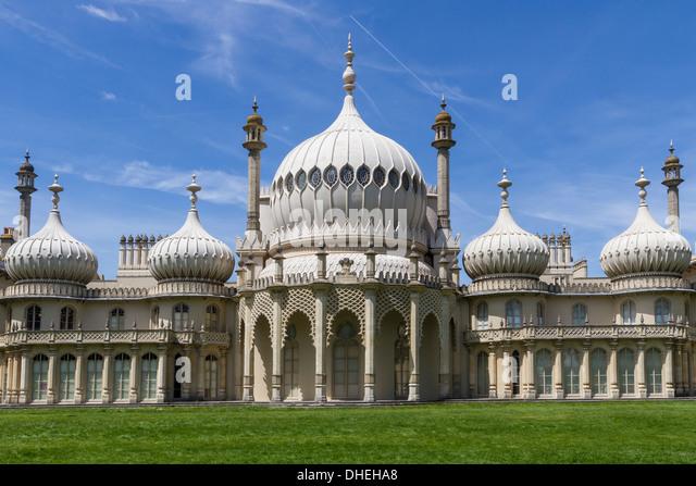 Royal Pavilion, Brighton, Sussex, England, United Kingdom, Europe - Stock Image