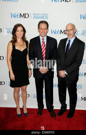 WebMD Hosts 2014 Health Hero Awards - Red Carpet Arrivals  Featuring: Kristy Hammam,David Schlanger,Steven Zatz - Stock Image