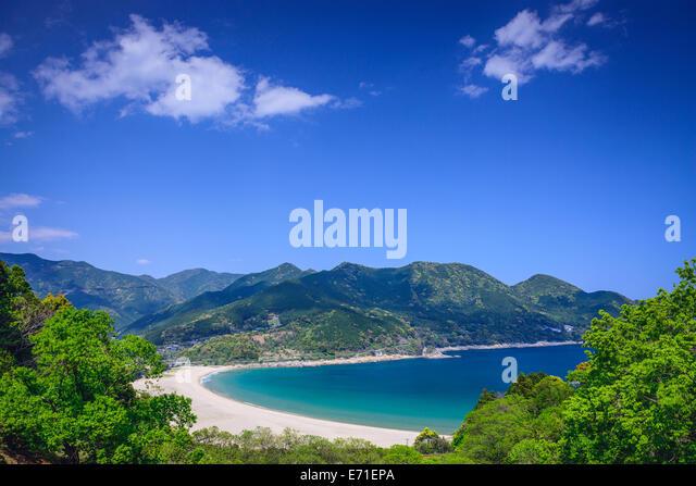 Atashika Beach in Kumano, Japan. - Stock-Bilder