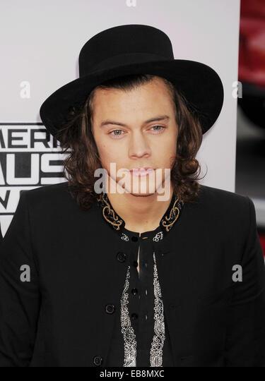 HARRY STYLES of UK pop group One Direction in November 2014. Photo Jeffrey Mayer - Stock-Bilder