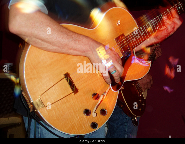 Guitar Player - Stock-Bilder