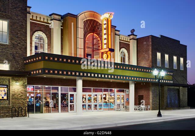 Movie Theater Exterior Stock Photos & Movie Theater ...