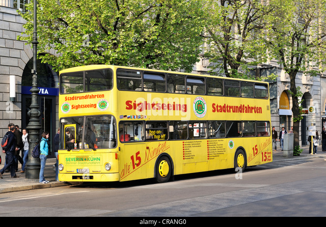 berlin sightseeing bus germany stock photos berlin sightseeing bus germany stock images alamy. Black Bedroom Furniture Sets. Home Design Ideas