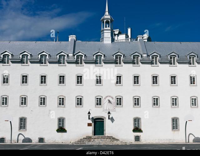 Canada,Quebec,Quebec City, Laval University School of Architecture - Stock Image