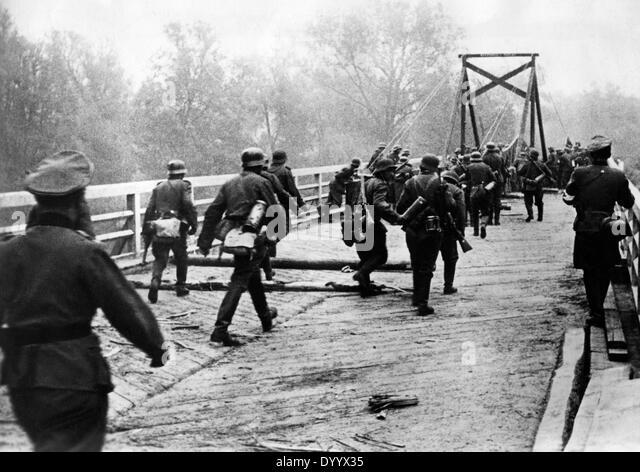 Beginning of the assault in Russia, 22 June 1941 - Stock Image