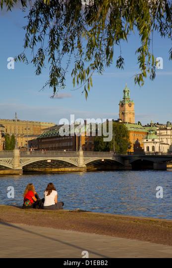 Gamla Stan, Stockholm, Sweden, Scandinavia, Europe - Stock Image