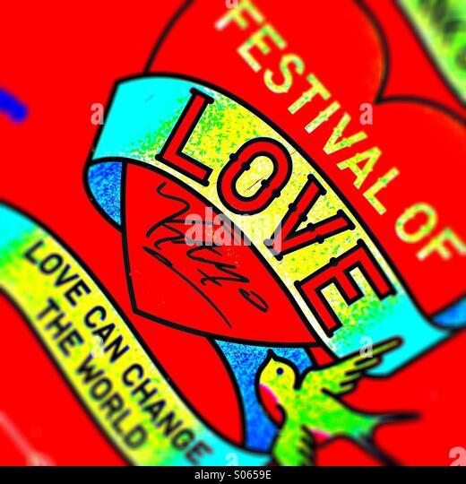 Festival of love - Stock-Bilder