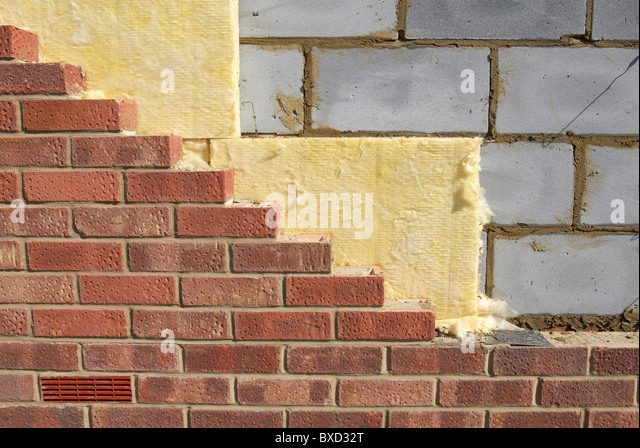 Cavity Wall Insulation Carbon Black : Cavity wall stock photos images alamy