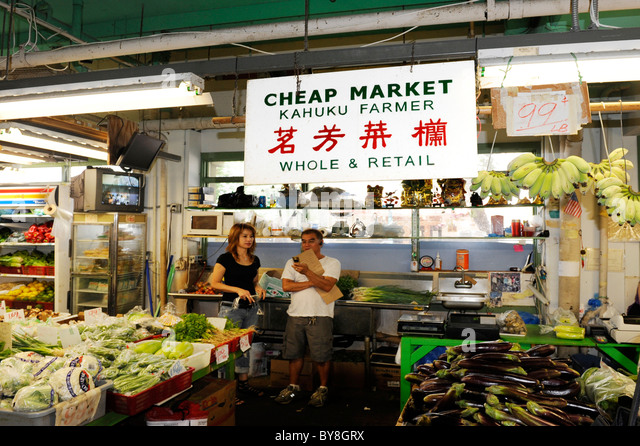 Fish Market Place Food To Eat Oahu