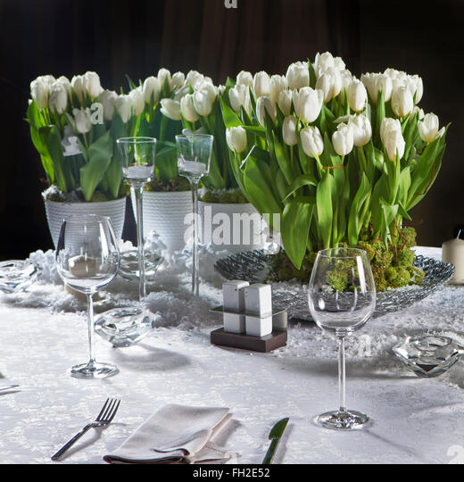 Candlestick tulip stock photos candlestick tulip stock for Table 52 valentine s day