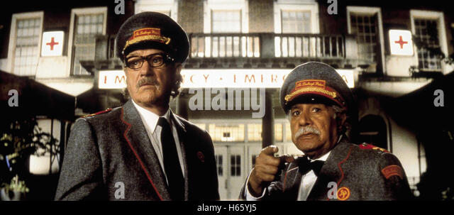 The Royal Tenenbaums, aka: Die Royal Tenenbaums, USA 2001, with Gene Hackman as Royal Tenenbaum - Stock Image
