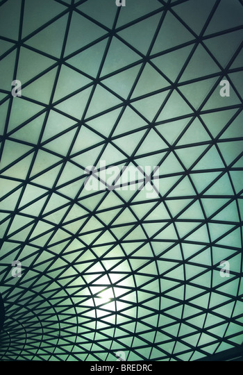 The Great Court in the British Museum,London,England,UK - Stock-Bilder