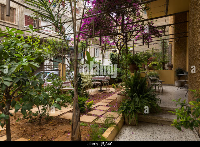Baffa house guesthouse in Mar Mikhael, Beirut Governorate, Beirut, Lebanon - Stock-Bilder