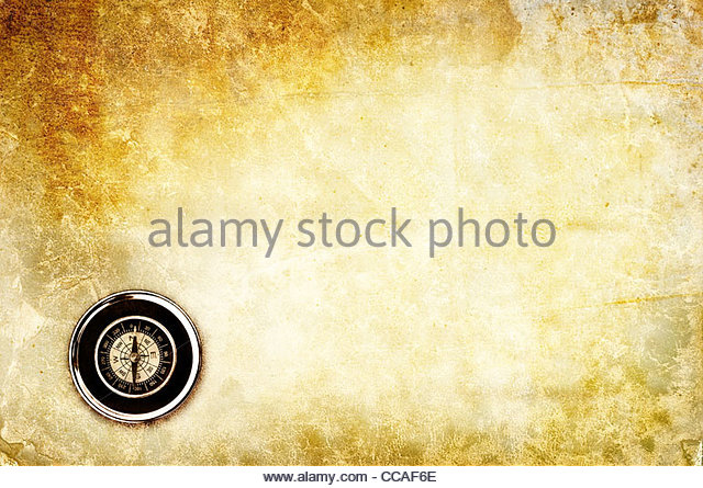 compass background - Stock Image