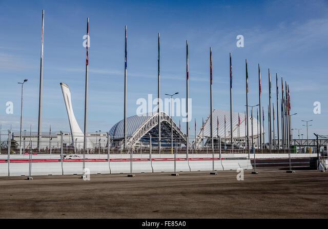 Autodrome Sochi Formula One - Stock Image
