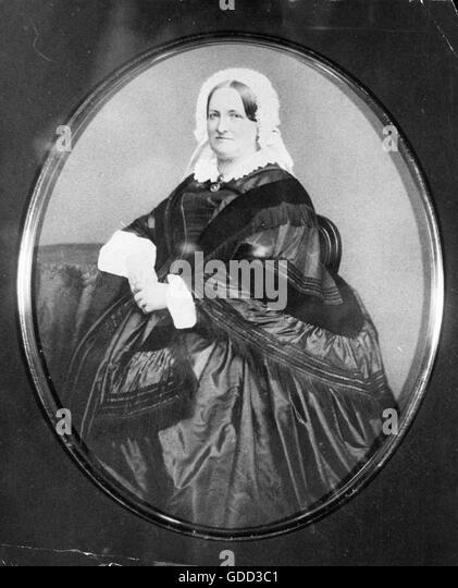 Hedvig von Tarrach, circa 1850 - Stock-Bilder