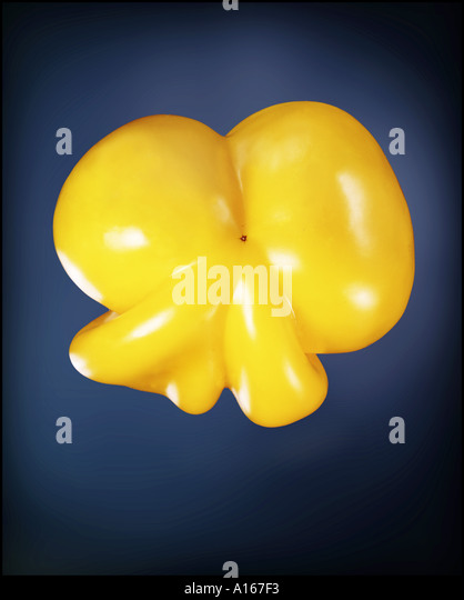 yellow pepper - Stock Image