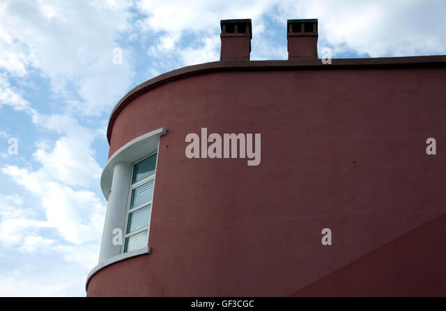 A part of the Casino Municipal in Levanto, Italy - Stock Image