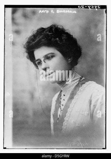 Anita C. Bourgeoise (LOC) - Stock Image