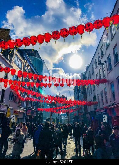 ChinaTown, London - Stock Image