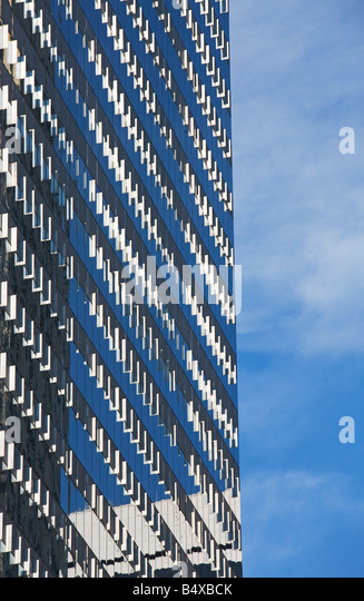 Windows on highrise building - Stock Image