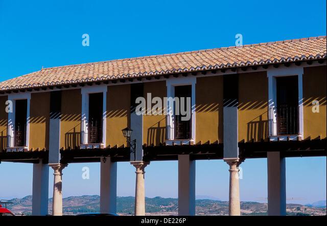 Cehegín. Main square. Murcia province. Spain. - Stock Image