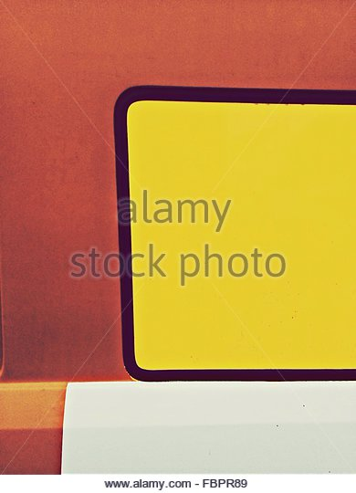 Detail Shot Of Red And Yellow Wall - Stock-Bilder