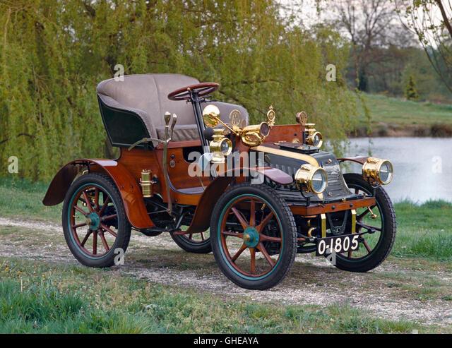 1903 Peugot Bebe Series C open 2 seater Country of origin France - Stock Image