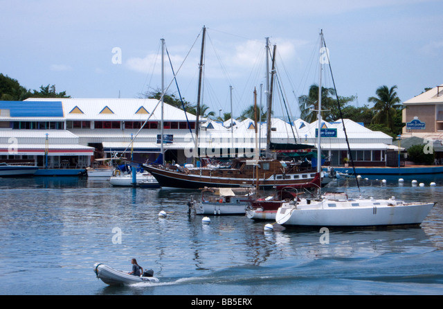 Simpson bay lagoon stock photos simpson bay lagoon stock - Marina port la royale marigot st martin ...