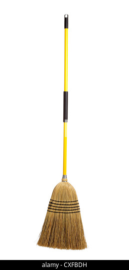 straw-broom-on-a-white-background-cxfbdh