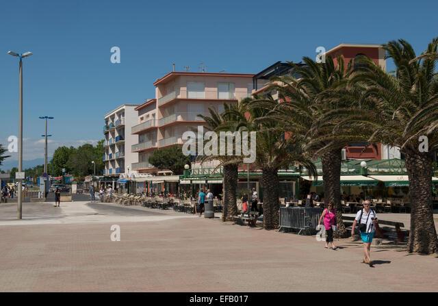 esplanade du casino argeles sur mer