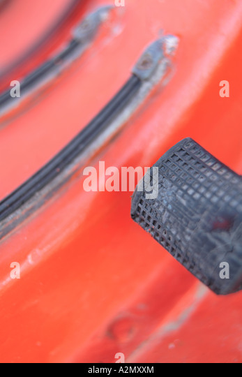 scooter pedal - Stock Image