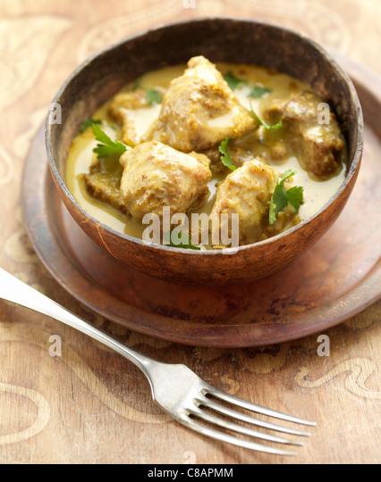 Lamb curry - Stock Image