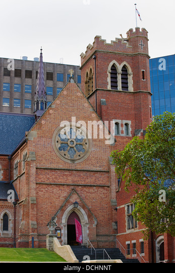 Saint George's Cathedral, Perth, Australia - Stock Image