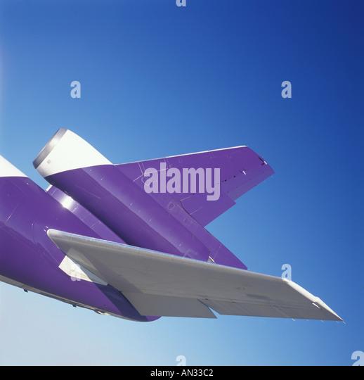 Jet Plane Detail - Stock Image