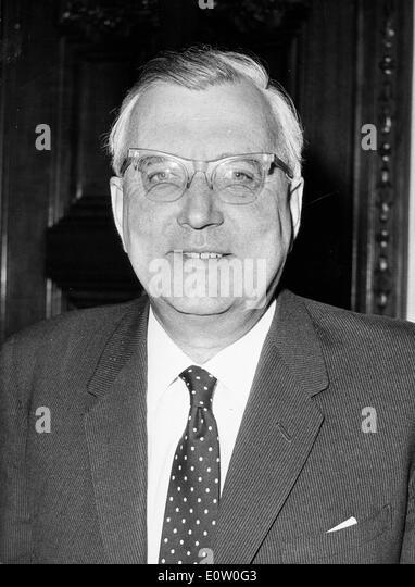Portrait of Baron Joseph Godber of Willington - Stock Image