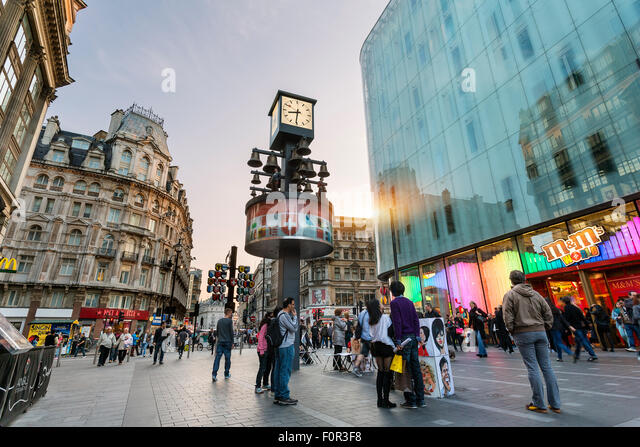 London, Leicester Square - Stock Image