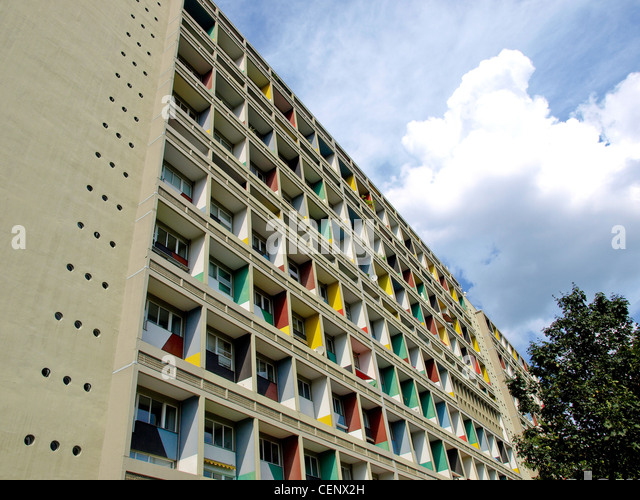 berlin corbusier haus stock photos berlin corbusier haus stock images alamy. Black Bedroom Furniture Sets. Home Design Ideas