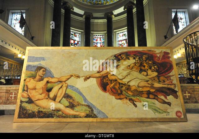 Creation Of Adam Stock Photos & Creation Of Adam Stock ...