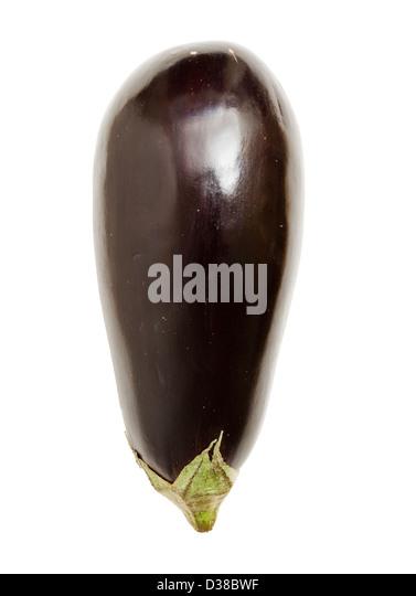 Aubergine (eggplant). - Stock Image