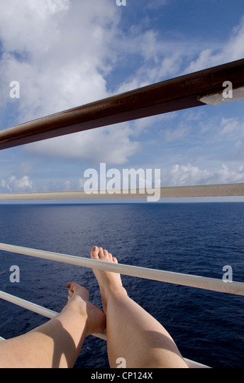 Cruise ship balcony view stock photos cruise ship for Cruise ship balcony view