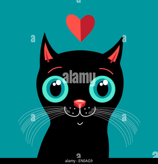 Adorable Valentines Day Kitten On Stock Photos & Adorable ...