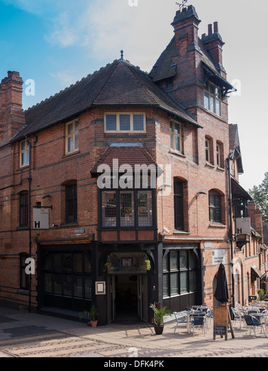 The Castle Pub next to Nottingham Castle in Nottingham, United Kingdom, UK - Stock Image