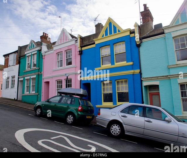 20 mph speed limit for residential and shopping streets of Brighton, East Sussex, on Brighton, (Phase 1) - Stock Image